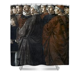 Christ, Peter And Andrew Shower Curtain by Granger