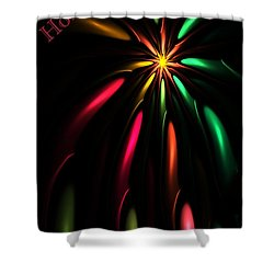Christmas Card 110810 Shower Curtain by David Lane
