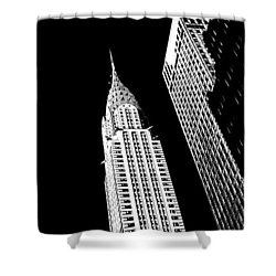 Chrysler Nights Shower Curtain by Az Jackson
