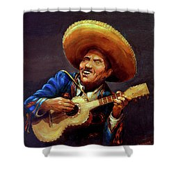 Cielito Lindo Shower Curtain by Hanne Lore Koehler