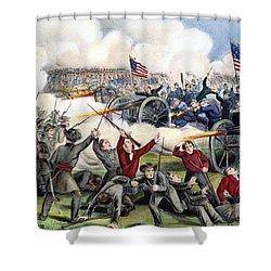Civil War: Gettysburg, 1863 Shower Curtain by Granger