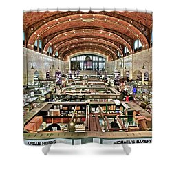 Classic Westside Market Shower Curtain by Frozen in Time Fine Art Photography