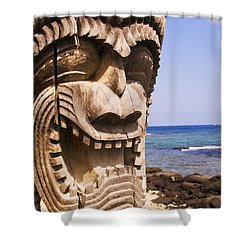 Close-up Of Kii Shower Curtain by Ron Dahlquist - Printscapes