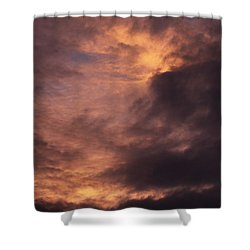 Clouds Shower Curtain by Clayton Bruster