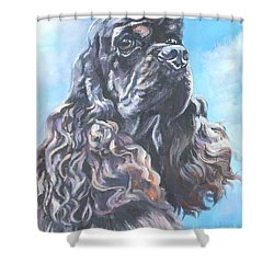 Cocker Spaniel 2 Shower Curtain by Lee Ann Shepard