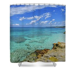 Color And Texture Shower Curtain by Chad Dutson