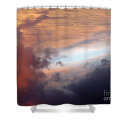 Color Palette Shower Curtain by Brian  Commerford