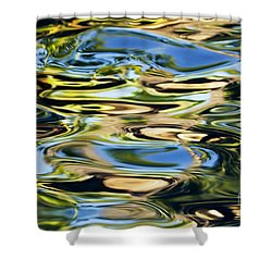 Colorful Water Ripples Shower Curtain by Dave Fleetham - Printscapes