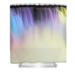 Colors Shower Curtain by Kathleen Struckle