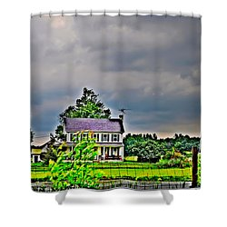 Coming Storm Shower Curtain by Bill Cannon