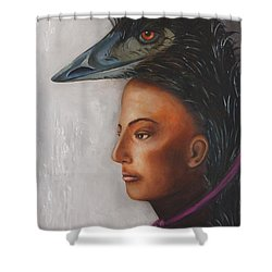 Contemplation Shower Curtain by Leah Saulnier The Painting Maniac