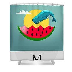 Cool  Shower Curtain by Mark Ashkenazi