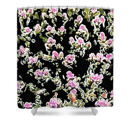 Coral Spawning  Shower Curtain by Lanjee Chee