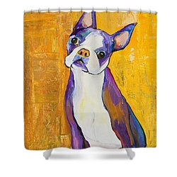 Cosmo Shower Curtain by Pat Saunders-White