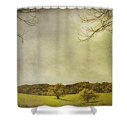 Count On Me Shower Curtain by Laurie Search
