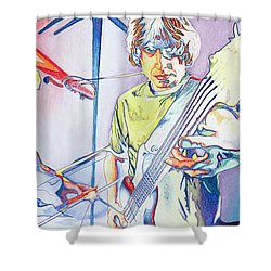 Coventry Phish Shower Curtain by Joshua Morton