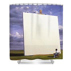 Creative Problems Shower Curtain by Jerry LoFaro