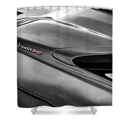 'cuda 340 Shower Curtain by Gordon Dean II