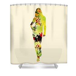 Cute Shower Curtain by Anastasiya Malakhova