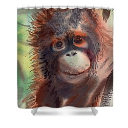 My Precious Shower Curtain by Donald Maier