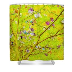 Dancing In The Wind 01 - 343 Shower Curtain by Variance Collections
