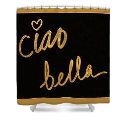 Darling Bella II Shower Curtain by South Social Studio