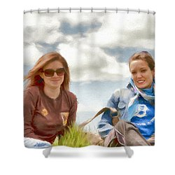 Daughters Shower Curtain by Jeff Kolker