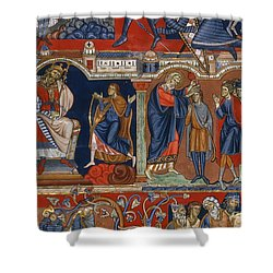David And Saul Shower Curtain by Granger