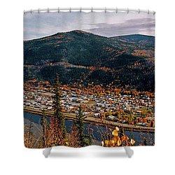 Dawson City - Yukon Shower Curtain by Juergen Weiss