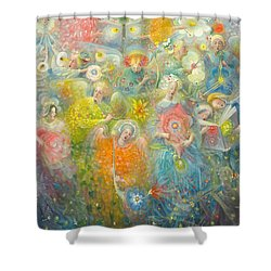 Daydream After The Music Of Max Reger Shower Curtain by Annael Anelia Pavlova