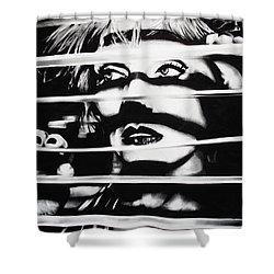 Deborah Harry Shower Curtain by Brian Curran
