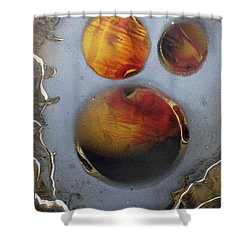 Deep Space Shower Curtain by Arlene  Wright-Correll