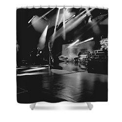 Def Leppard At Saratoga Springs 2 Shower Curtain by David Patterson