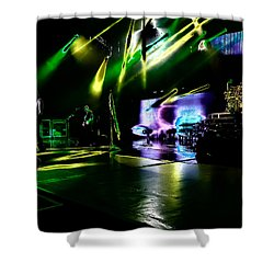 Def Leppard At Saratoga Springs 4 Shower Curtain by David Patterson