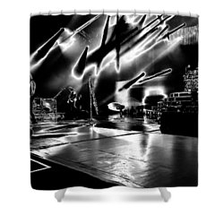 Def Leppard At Saratoga Springs 5 Shower Curtain by David Patterson