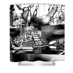 Def Leppard At Saratoga Springs 6 Shower Curtain by David Patterson