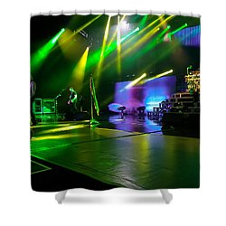 Def Leppard At Saratoga Springs Shower Curtain by David Patterson