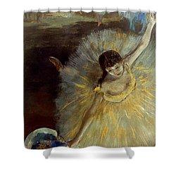 Degas: Arabesque, 1876-77 Shower Curtain by Granger