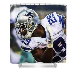 Demarco Murray Shower Curtain by Marvin Blaine