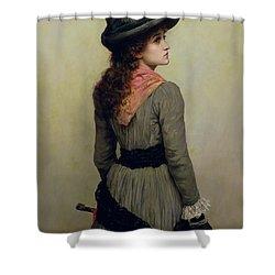 Denise Shower Curtain by Herbert Schmalz