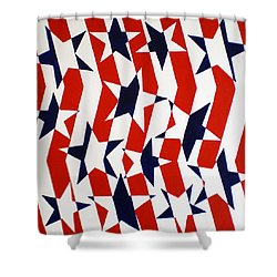 Dennis Conner II Shower Curtain by Oliver Johnston