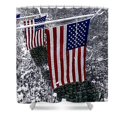 Desert Storm Parade  Nyc Shower Curtain by Cindy Roesinger