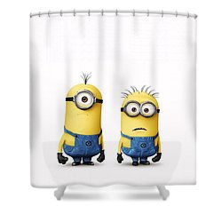 Despicable Me 2  Shower Curtain by Movie Poster Prints