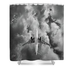 Destination Unknown Shower Curtain by Mark Rogan