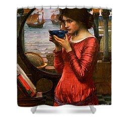Destiny Shower Curtain by John William Waterhouse