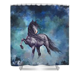 Determination Shower Curtain by Kate Black