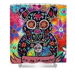 Dia De Los Muertos Bulldog Painting By Pristine Cartera Turkus
