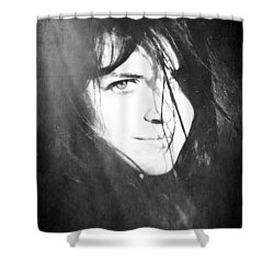 Diana's Eye Shower Curtain by Loriental Photography