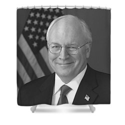 Dick Cheney Shower Curtain by War Is Hell Store