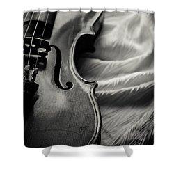 Disrobed Shower Curtain by Maggie Terlecki
